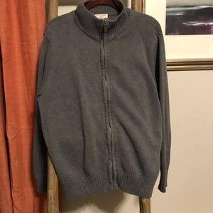 Men's Dockers 💯 Cotton zippered Cardigan medium
